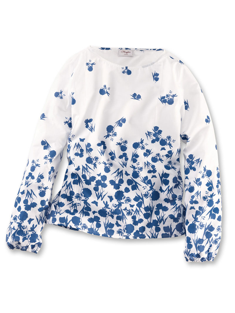 RHS-Shirtbluse 'Tulips & Peonies' von Mayfair