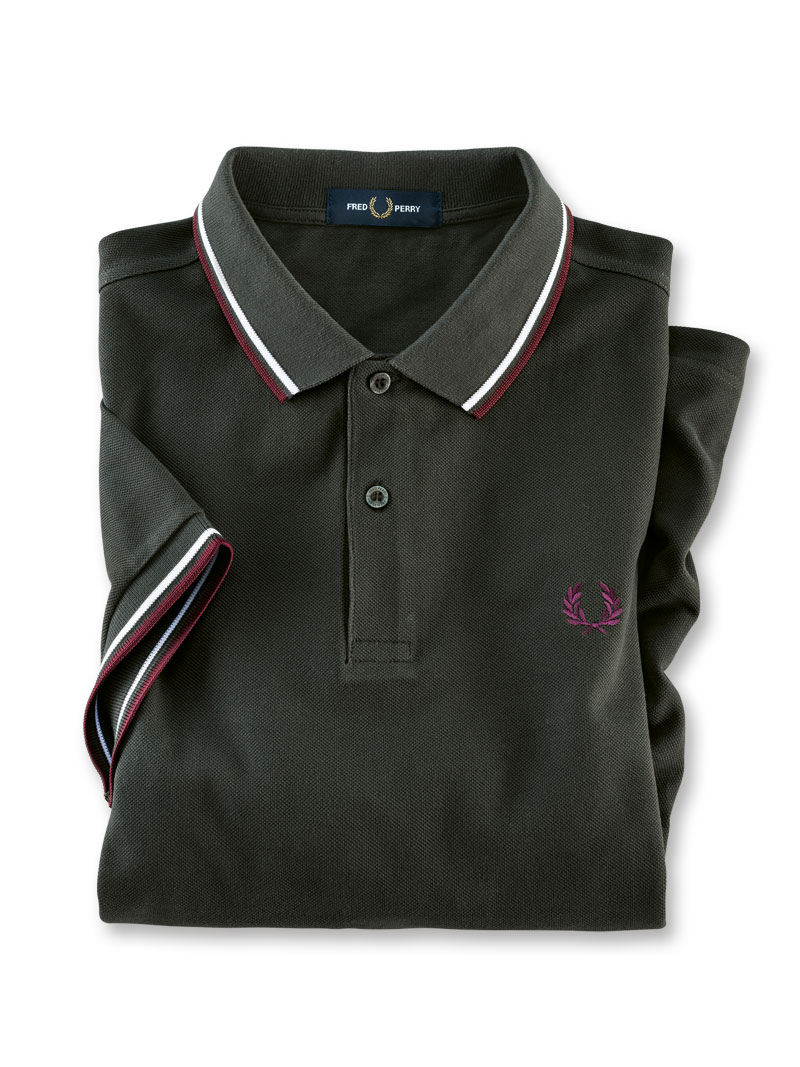 Fred Perry Polo in Oliv