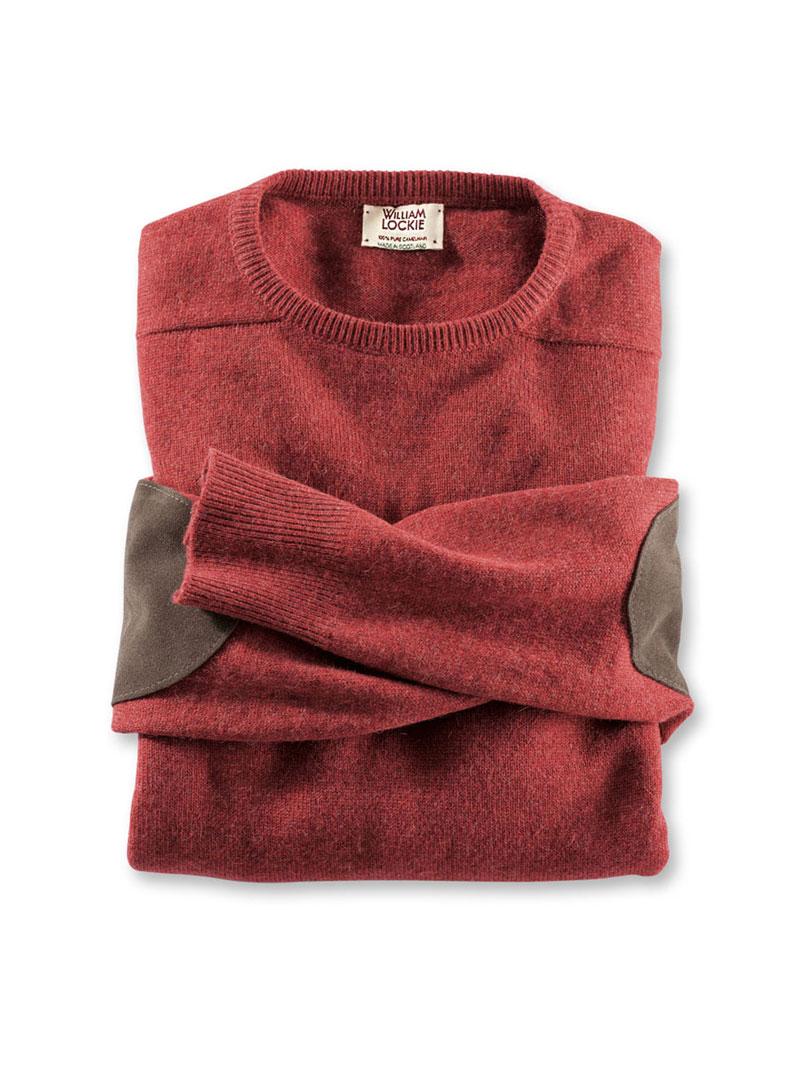 Pullover aus Kamelhaar in Ziegelrot von William Lockie bestellen ... b94e5bdf42