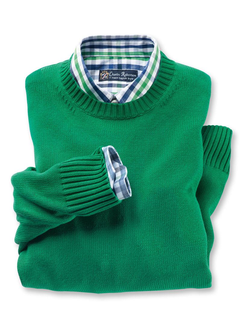 Sommer-Pullover in Grün von Alan Paine günstig bestellen - THE ... be650f00d2