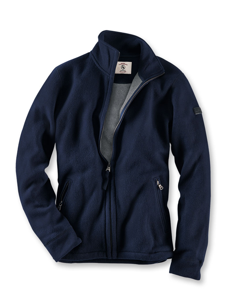 premium selection bd074 0266e Wollfleece-Jacke in Navy von Aigle