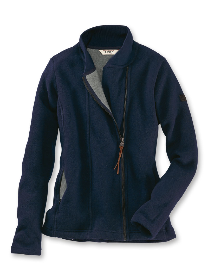 Fleecejacke von AIGLE in Navy