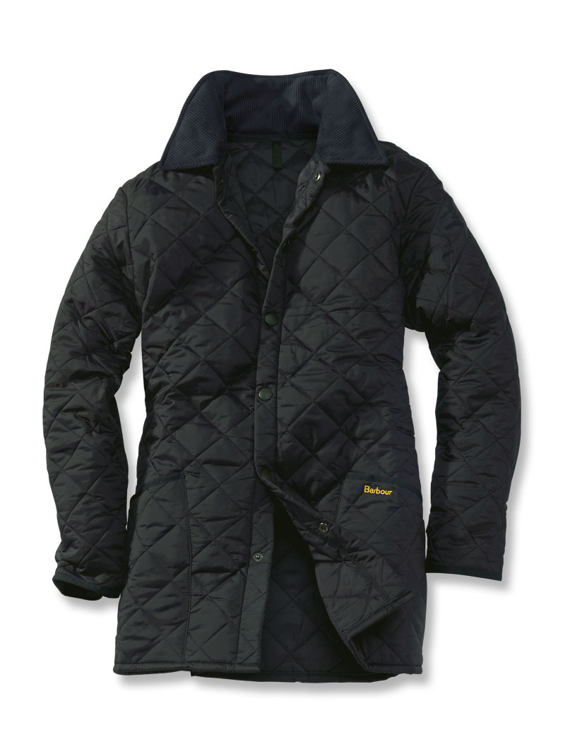 Barbour 'Liddesdale' - Steppjacke in Schwarz
