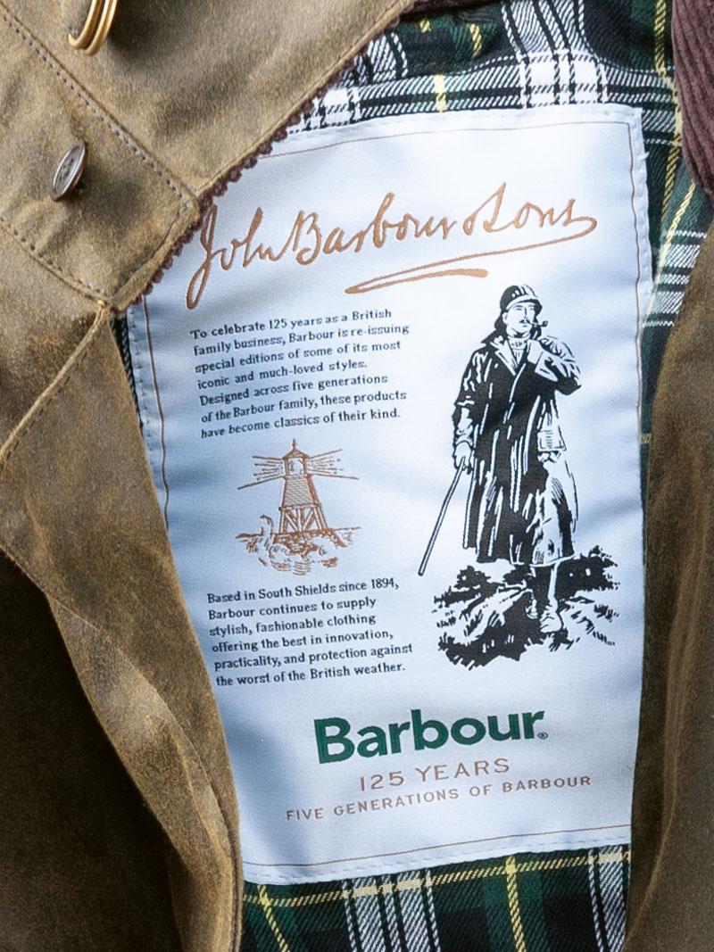 neue Version größte Auswahl von 2019 Kauf authentisch Barbour-Wachsmantel 'Haydon' in Oliv für Herren