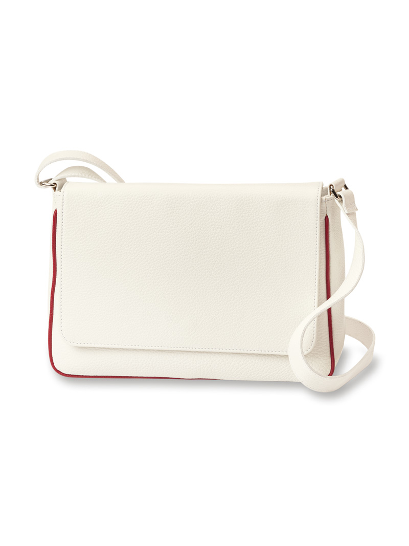 Shoulder Bag 'St. Ives' in White von Kensington