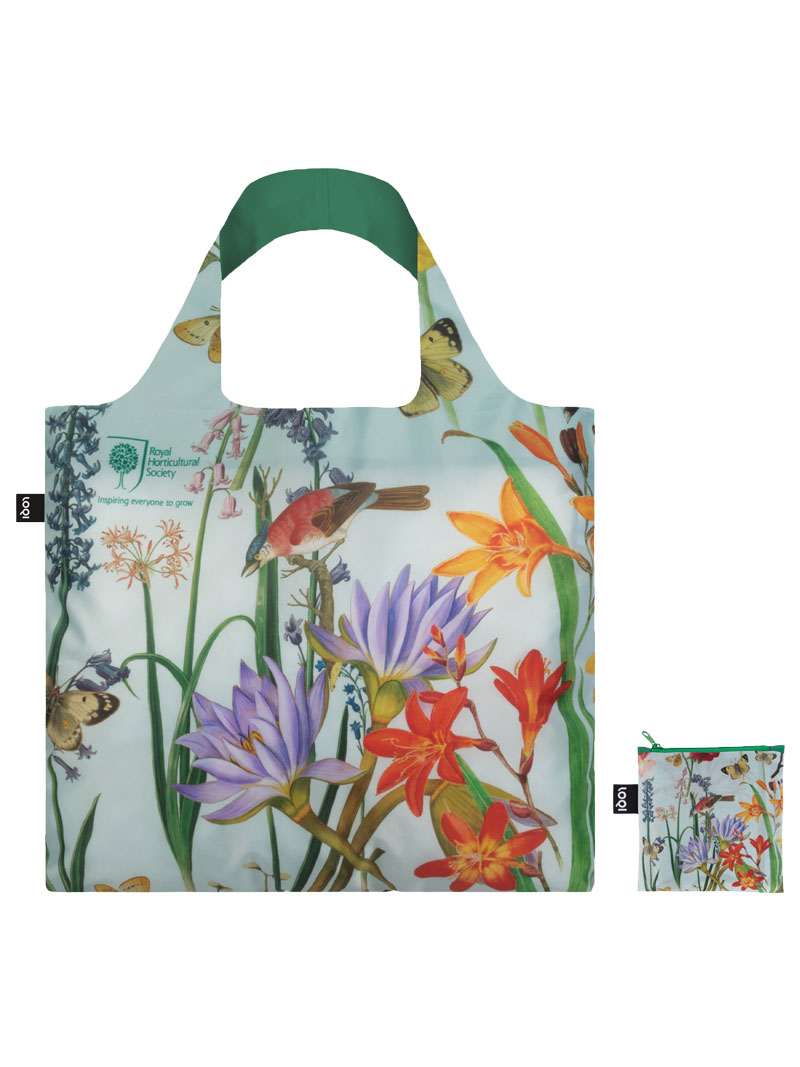 RHS-Shoppingbag 'Paradise Garden' in Aqua Bild 2
