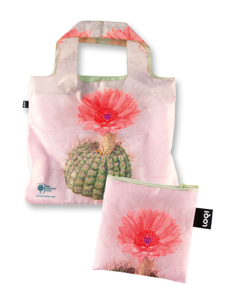 RHS-Shoppingbag 'Cactus Blossom' in Rosa