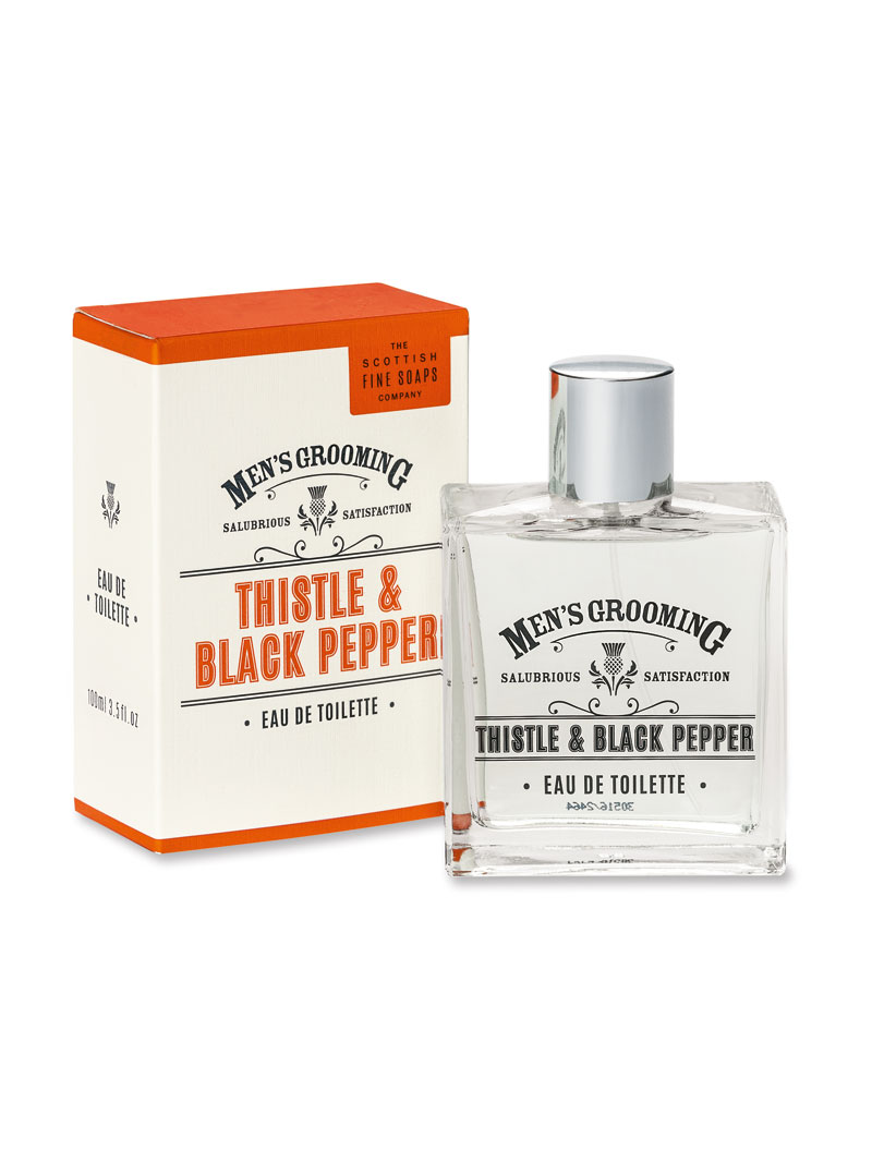 Herrenduft 'Thistle & Black Pepper' (100 ml)