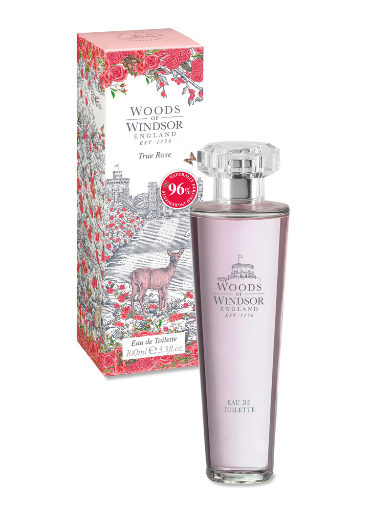 Damenparfüm True Rose von Woods of Windsor