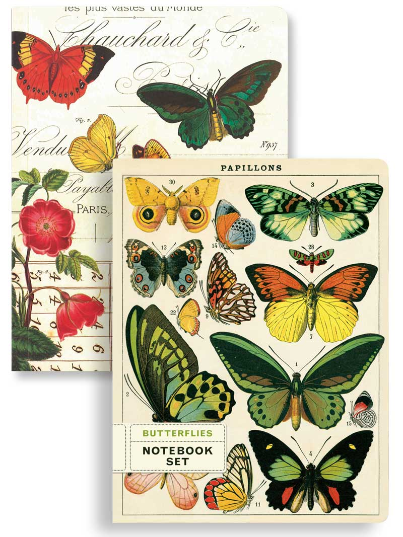 Notebook-Set Butterflies