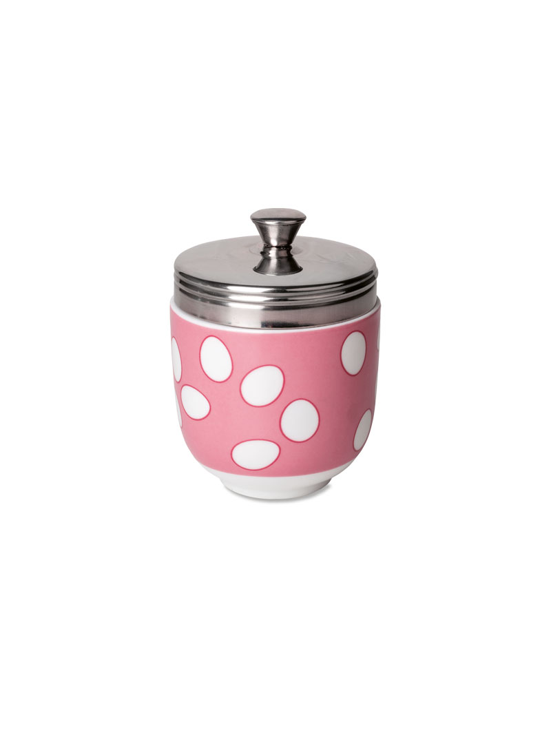 Egg Coddler in Pink
