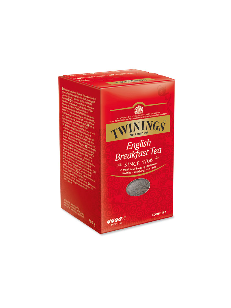 Packung loser Tee English Breakfast Tea