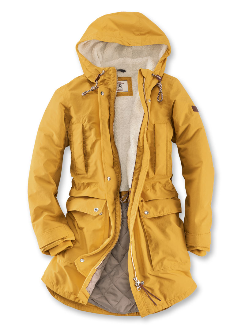 big sale b4143 81feb Aigle-Parka in Vintage-Gelb