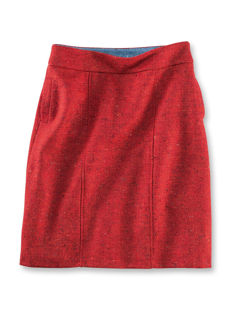 Avoca-Rock aus irischem Tweed in Bright Red bestellen - THE BRITISH ... fdd62ce266
