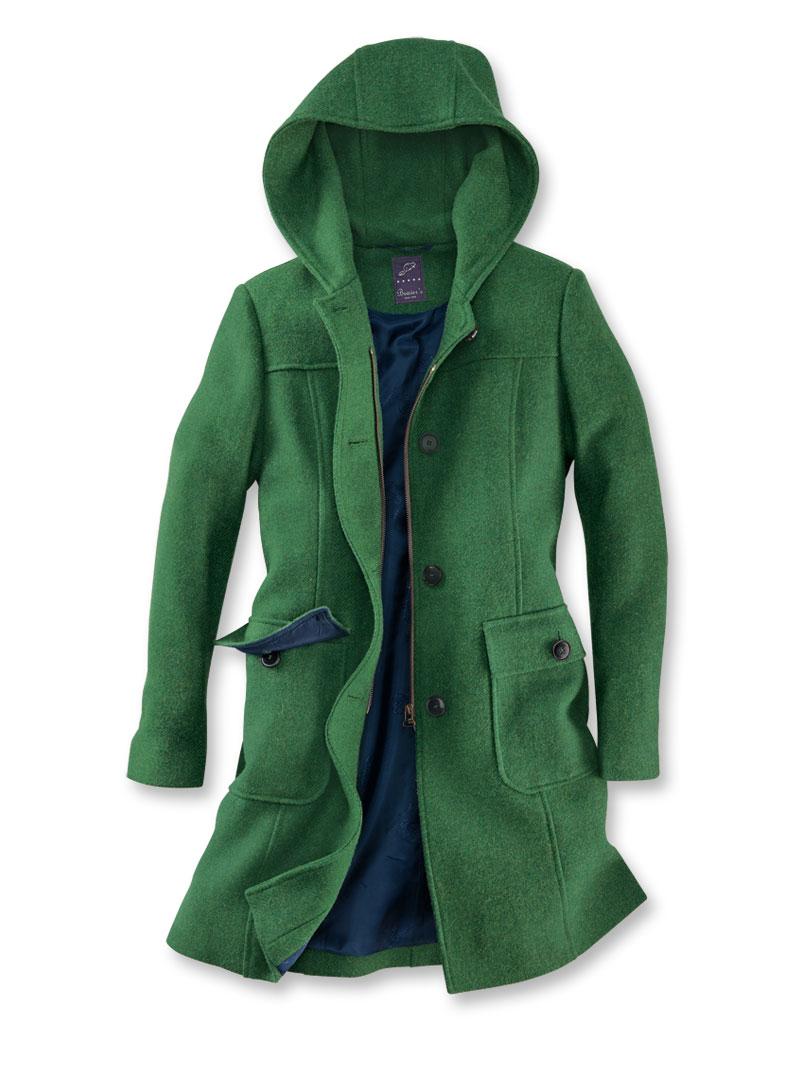 Harris-Tweed-Mantel in Irish Green von Beaver s bestellen - THE ... 46fd611ba5