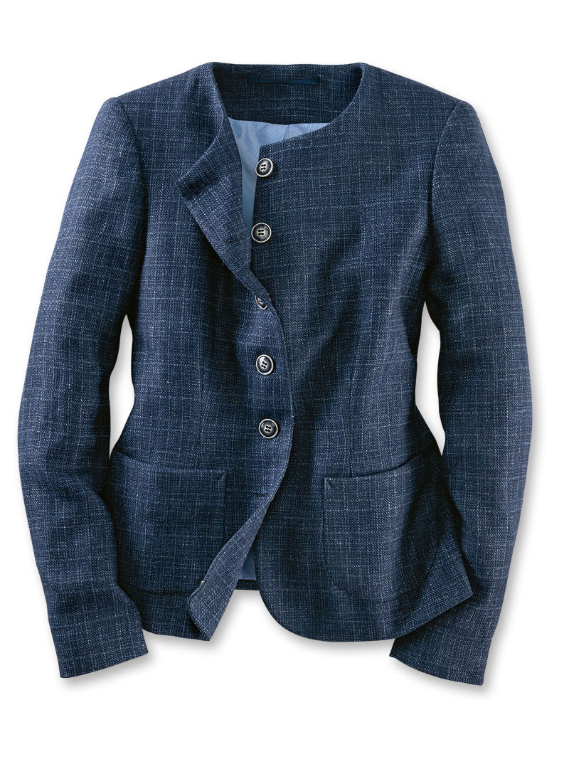 Kinbury-Blazer 'Scilly' in Atlantic Blue