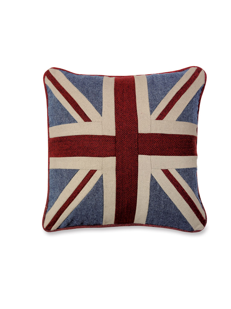Tweed Kissen Union Jack Bestellen The British Shop Typisch Sweater Original