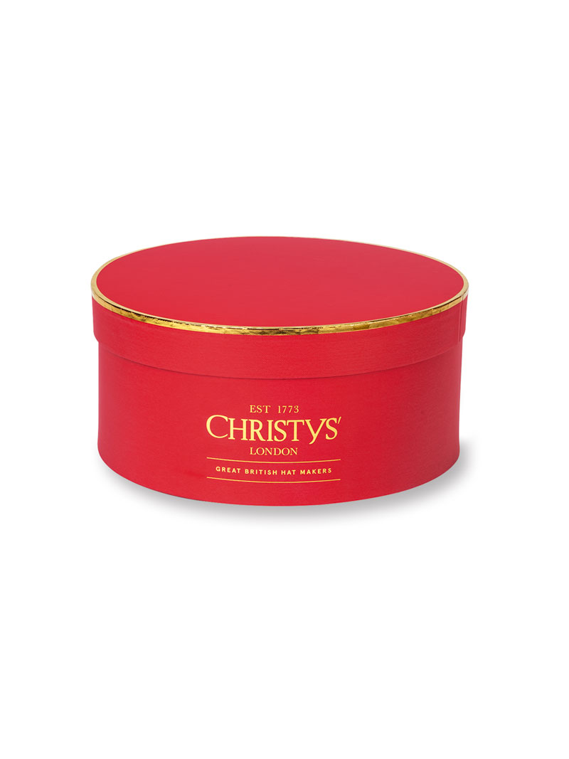 Christys'-Hutschachtel in Royal Red