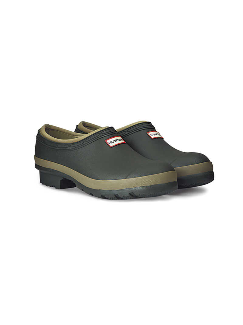 'Gardener Clog' für Damen in Dark Olive von Hunter