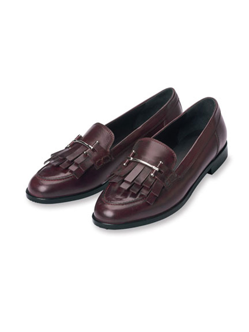 Sportiver College-Slipper in Bordeaux von Kensington