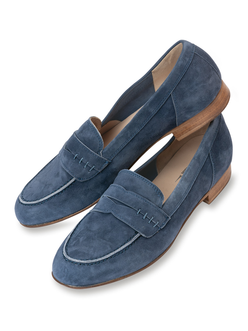 Loafer in Denim Blue