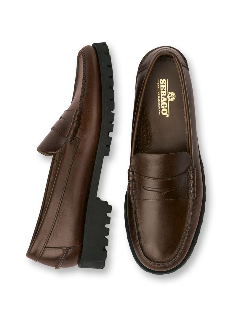 bestbewerteter Beamter Neu werden gut aussehend Country-Loafer in Dunkelbraun von Sebago