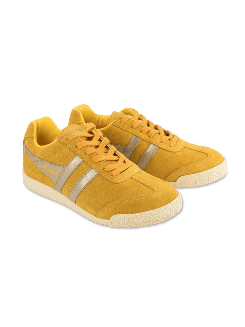Gola Sneaker im goldgelben Retro Look