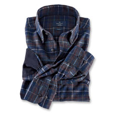 Exklusives Flanellhemd von Hackett London