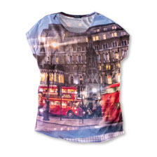 Robertson-Shirt 'London Bus'