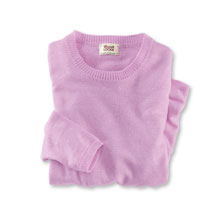 Kaschmir-Sommerpullover in Berry von William Lockie