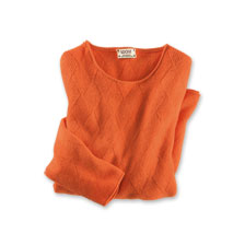 Country-Pullover in Grapefruit von William Lockie
