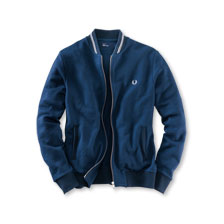 Fred-Perry-Blouson in Navy