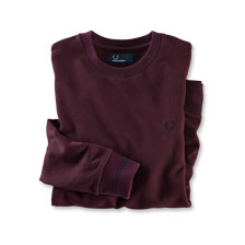 Pullover in Mahagony von Fred Perry