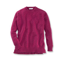 Geelong-Pullover in Purpur von William Lockie