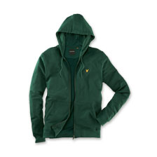 Hoodie in Green von Lyle & Scott