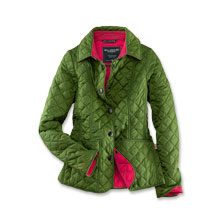 Leichte Steppjacke in Fresh Green von Wellington