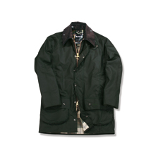 Barbour Wachsjacke Beaufort in Oliv