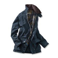 Warme Funktionsjacke in Navy  von Barbour