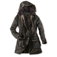 Barbour-'Bower'-Wachsparka im Country Look