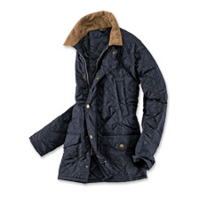 'Canterdale Quilt'-Steppjacke in Navy von Barbour