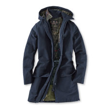 Barbour-Funktionsparka 'Weather Comfort' in Dark Navy