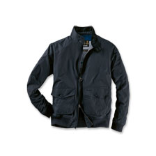 Barbour-Blouson im 'Harrington Style' in Navy