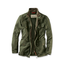 Barbour-Sommerjacke 'Skipton' in Oliv