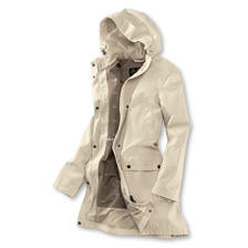 Barbours 'Barogram Jacket' in Ivory