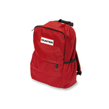 Nylon-Rucksack in Military Red von Hunter