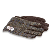 Tweed-Handschuhe aus Harris Tweed für Herren von The British Bag Company