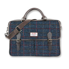 Aktentasche aus Allasdale  Harris Tweed von The British Bag Company