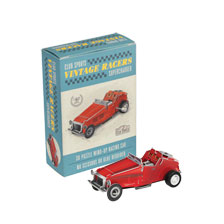 The Vintage Racers 3D-Puzzle