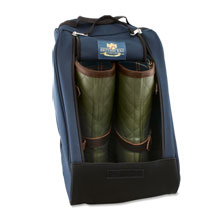 Stiefeltasche in Navy von The British Bag Company