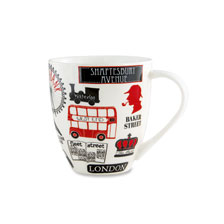 Becher mit London-Motiv